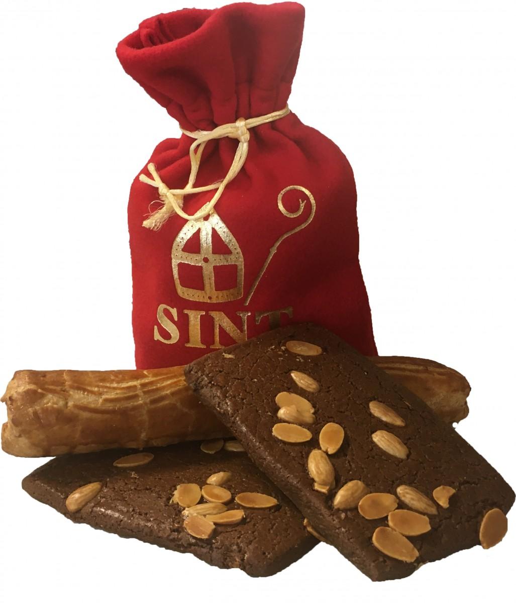 cadeau tip: gevulde Sint tas of Zak van Sinterklaas