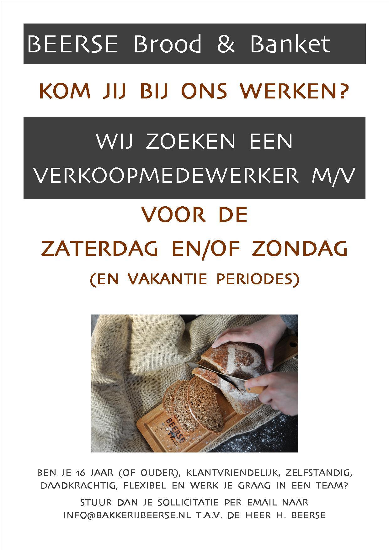 Vacature Sint Pancras, Piersonstraat en Berenkoog in Alkmaar